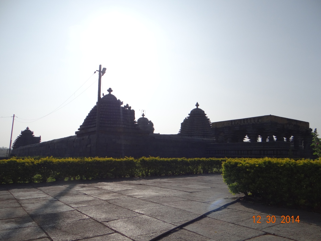 The temple at a glance!