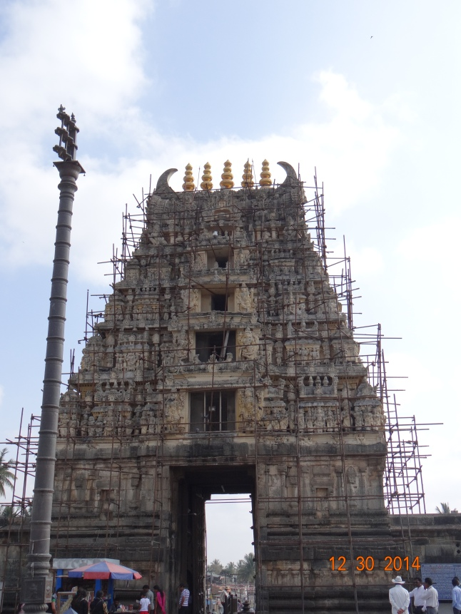 The Gopuram (under renovation)