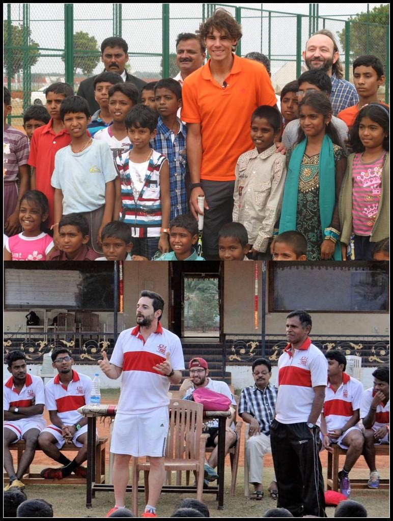 Rafa Nadal and Jofre Mateu Gonzalez (Goa Football Club)